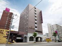 【外観】ホテル アセントイン札幌は東札幌駅より徒歩1分