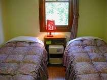 お部屋の窓から見える景色は、全室、緑のみです!