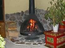 薪が、燃える炎が、見たくて、このストーブにしました。