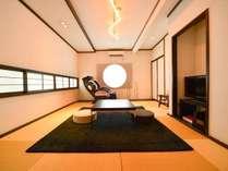 かぎろひ 和洋室 デザイナーズ風 和室8畳+ベッドルーム8畳