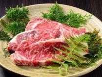 上州牛のステーキプラン☆夕食メインが上州牛にグレードアップ!