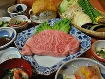 佐賀牛プラン 2人で一枚300グラムのステーキでどうぞ!他の和牛とは脂が違います