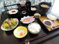 【朝食付】広々とした大浴場で朝風呂&和朝食で1日をスタート♪