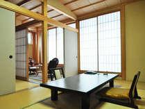 【別邸游山の庄・特別室】和室3間、広縁(洗浄機能トイレ付)