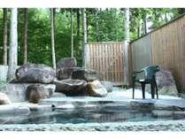 癒し森の露天風呂
