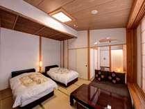 *【新館:ツインベッド】ツインベッドルームもご用意しております