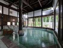 *【温泉:内風呂】肌がすべすべになる祭畤温泉にゆっくり浸かってください
