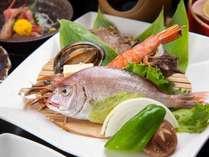 *【夕食:三陸海の幸 海鮮三昧コース】三陸の浜直送の新鮮な海の幸を存分にお楽しみください