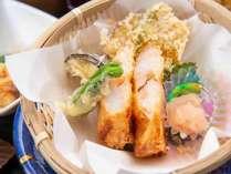 *【夕食一例:杜仲茶ポーク豆乳しゃぶしゃぶコース】