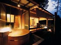 人気No1【離れ草庵】~憧れの温泉露天風呂付き客室で過ごす至福のひととき