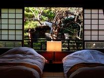 【趣き】部屋ごとに間取り、広さ、景観が異なります、何度お泊り頂いても異なる趣きをお楽しみ頂けます