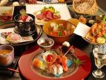 *月替りの趣肴会席~台の物、洋皿、煮物、お食事が選べます※年末年始はおまかせ特別料理となります