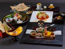 *月替りの趣肴会席~台の物、洋皿、煮物、お食事が選べます※年末年始はおまかせ特別料理に変更となります