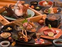 伊勢海老も鯛も天然マグロも熊野牛も!!特別会席料理(※蒸篭蒸しは2人前)