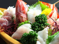 ★◇夕食◇伊豆といえばお刺身!その時期においしい新鮮なお刺身をご用意しております。