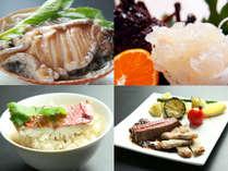 ◆三大味覚◆3つの豪華3大味覚をお刺身と土鍋ごはんでお楽しみ下さい