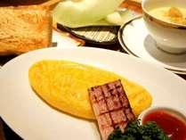 洋風朝ごはん♪オムレツ・本日のスープ・ごはんかトースト