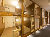 デザイナーのデザインしたモダンに洗練された客室