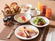 朝食(洋食)イメージ