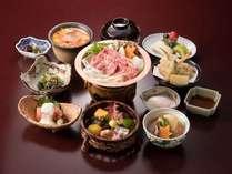 【1泊2食付】夕食は和食「氷見牛すき鍋御膳」付