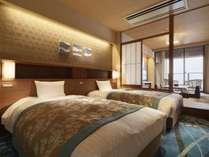 *【客室:特別室(一例)】62平米の広さがあり、ゆったりと寛ぐことができます