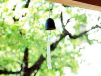 風鈴が心地よい風を運びます