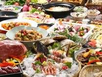寿司・天ぷら・帆立の炉端焼・ふらのそばなどボリューム満点