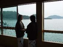 眺めのよい海