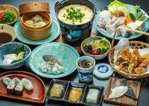 冬の一押し広島県には当館しか入らない天畜河豚を御賞味ください
