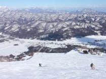 *白馬五竜スキー場/コブ斜面やスノーパークからキッズエリアと多彩なコースを完備!