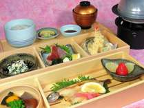 【ネット限定】【格安】 ご夕食白木松花堂弁当 1泊2食付き