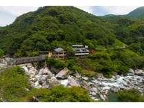 中津渓谷ゆの森