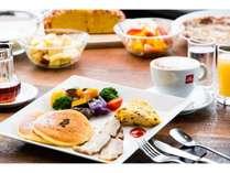 朝食もしっかり作ります。元気に食べて、思いっきり遊んでくださいね。