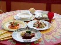 人気の当館グルメの基本がこの中に【スタンダードプラン】全5皿の欧風ビストロコース