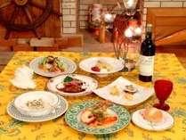 特別な6皿をお祝いの日や女子会に楽しむ♪ワンランク上の【グルメプラン】