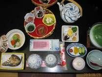 一泊朝食付きプラン朝食一例,三重県,味覚の宿 幸洋荘