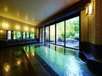 温泉大浴場サウナも併設された癒しの宮城野温泉