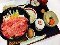 ■□2食付□■ビジネスパック★国産牛すき焼き鍋膳付