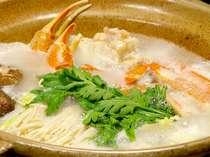 冬のお鍋といえば・・カニスキでしょ♪ほくほくの蟹を召し上がれ♪(一例)