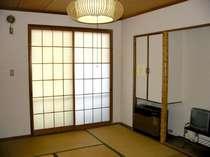 ゆったりお過ごしいただける和室(一例)