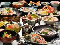 【夕食は個室でプチ贅沢】お湯自慢、笹井源泉と料理長こだわりのヘルシー膳「瑠璃の膳」【美味旬旅】
