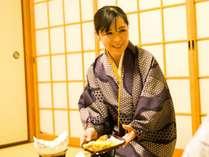 お部屋食が人気です♪周りを気にせず、ゆっくりお召し上がりください。