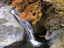 みたらい渓谷:紅葉は素晴らしい。10末から11月が最高。