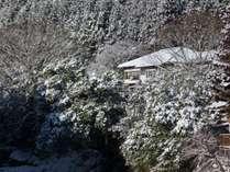 雪の新館: