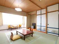 和室一例 全部屋10畳になります。広々お寛ぎいただけます。