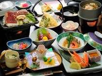 【和会席】地産地消の料理人厳選の人気のスタンダードプラン(一例)