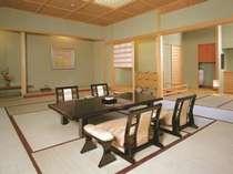 最上階の茶室庭園付き貴賓室「瑞翔」で過ごす至福の時◇夕食はお部屋食