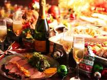 【夕膳/バイキング】12/25まで開催中★クリスマスフェア ※イメージ