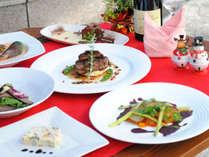 【記念日】ケーキ&ワイン付き!シェフおすすめ特別ディナーでお祝い★洋食コース