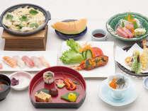 *【和懐石一例】地元の海の幸や無農薬野菜、を使用した本格和懐石をご堪能下さい。